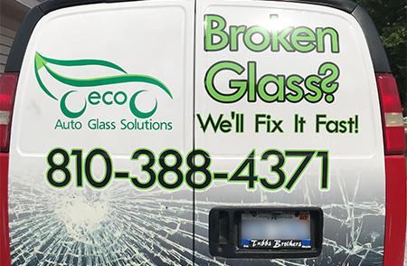 Eco Auto Glass Mobile Windshield Repair Van